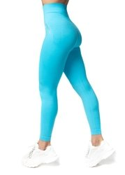 Bezszwowe Legginsy Double Push Up Revolution. Ocean Blue